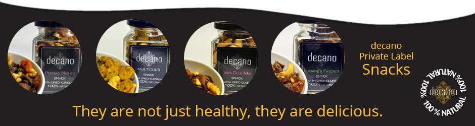 getrocknete Oliven Snack